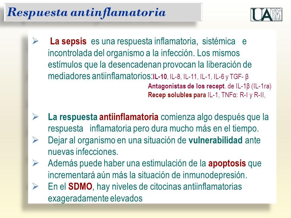 La sepsis es una respuesta inflamatoria, sistémica e incontrolada del organismo a la infección. Los mismos estímulos que la desencadenan provocan la l