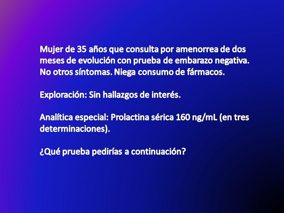 ADENOMA PRODUCTOR DE ACROMEGALIA CIRUGÍA TRANSESFENOIDAL NO ANÁLOGOS DE SOMATOSTATINA NO AÑADIR CABERGOLINA NO PEGVISOMANT NO ANÁLOGOS SOMATOSTATINA + PEGVISOMANT NO RADIOTERAPIA O RE-INTERVENCIÓN