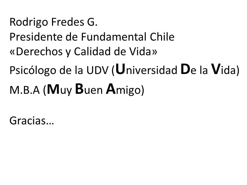 Rodrigo Fredes G.