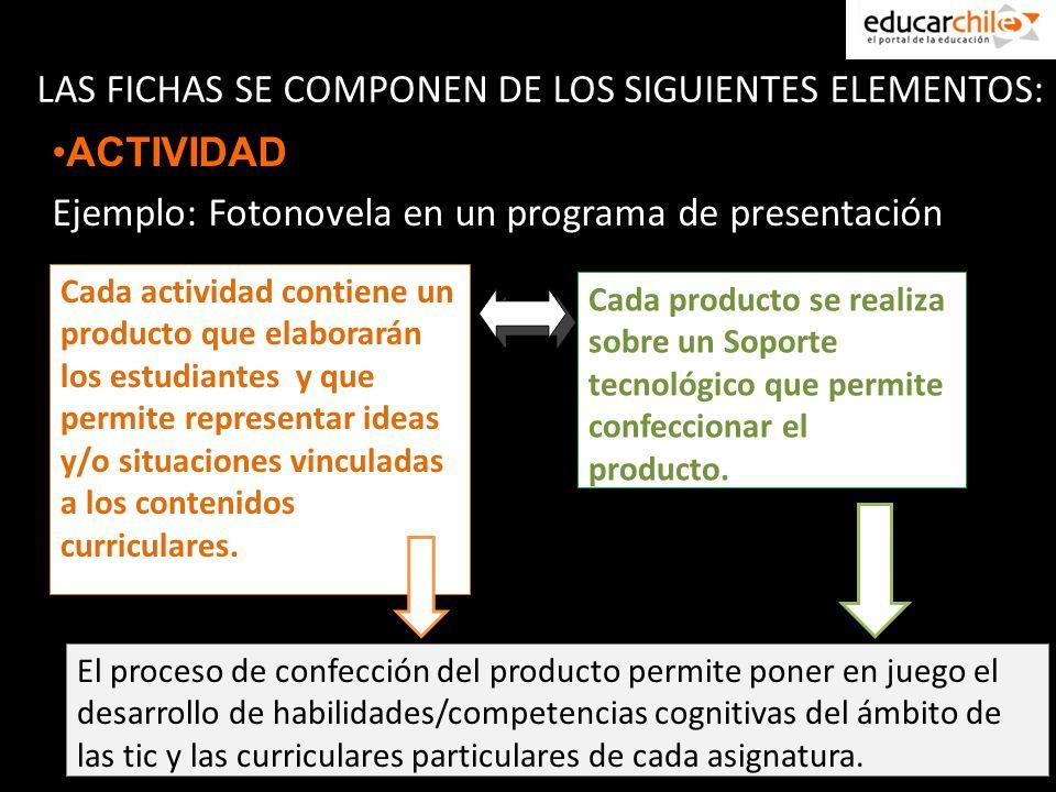 Las actividades pueden ser modificadas en su nivel de complejidad, por lo tanto posible de aplicarlas tanto en enseñanza básica como media.