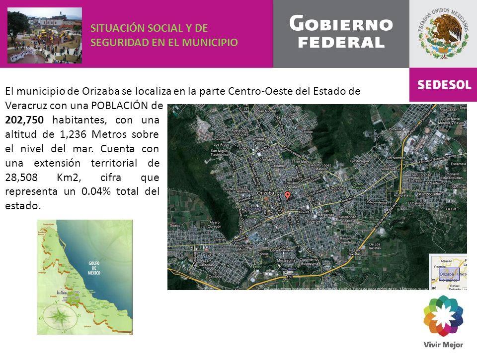 202,750 habitantes, con una altitud de 1,236 Metros sobre el nivel del mar.