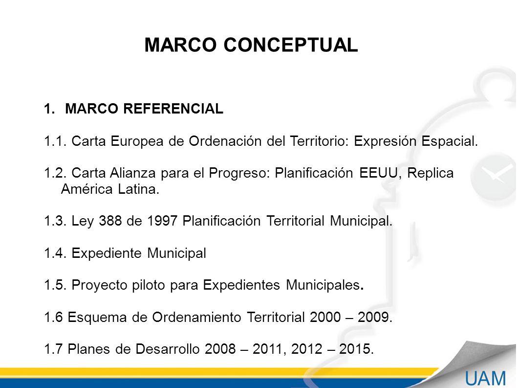 MARCO CONCEPTUAL 1.MARCO REFERENCIAL 1.1.