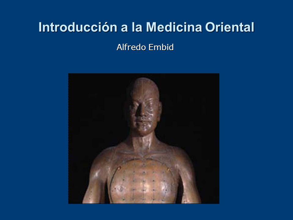 Introducción a la Medicina Oriental Alfredo Embid