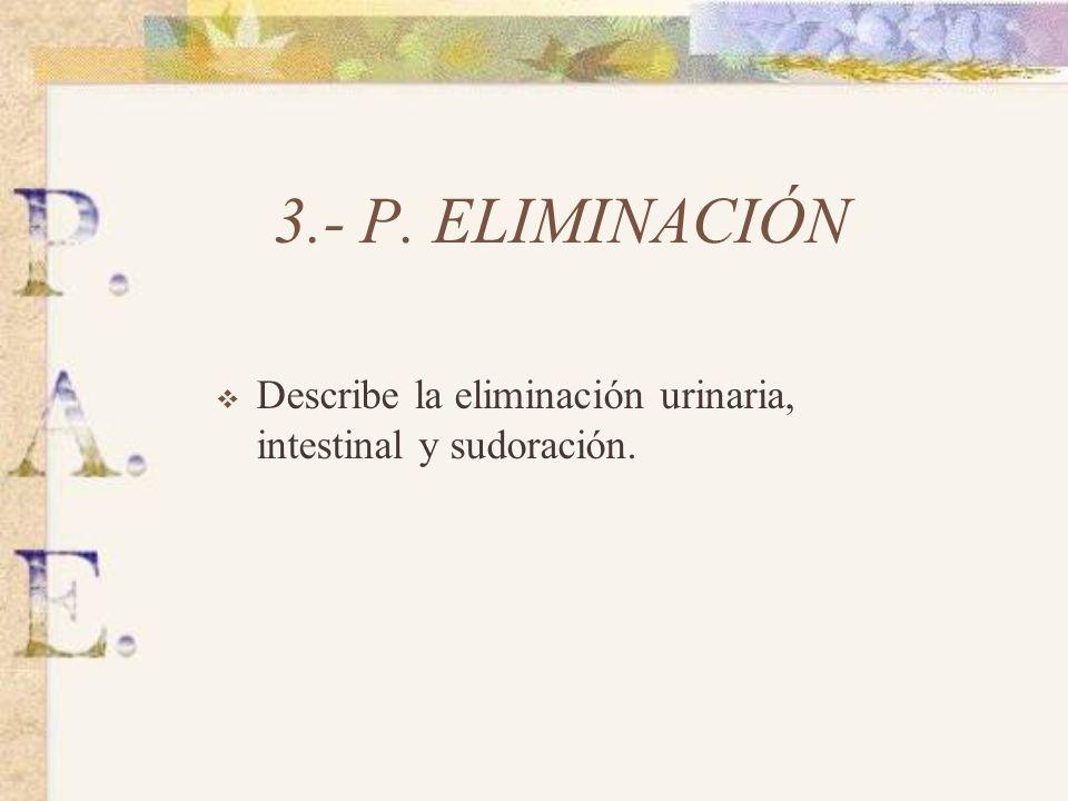 2.- P. NUTRICIONAL- METABOLICO Describe tipo de alimentación, horario, alimentos restringidos. Dificultad en la deglución. Estado de la piel.