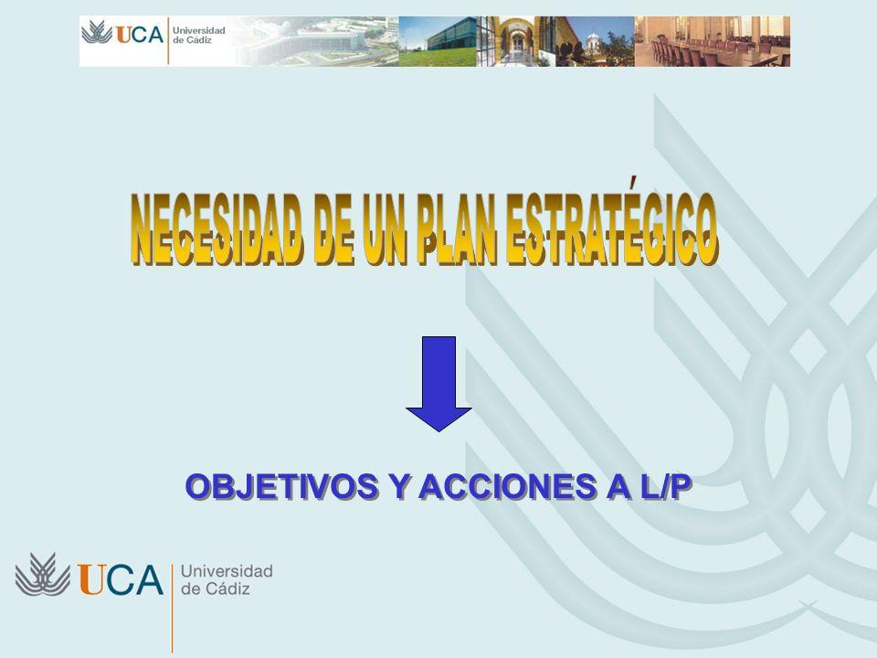 OBJETIVOS Y ACCIONES A L/P