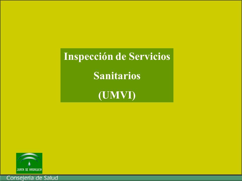Inspección de Servicios Sanitarios (UMVI)