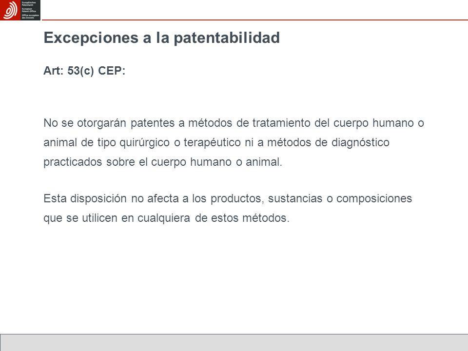 Primer uso médico El Artículo 54(4) CEP se aplica a compuestos cuyo uso médico se da a conocer por primera vez, independientemente de la amplitud de la invención.