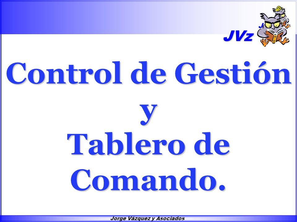 Control de Gestión y Tablero de Comando. JVz