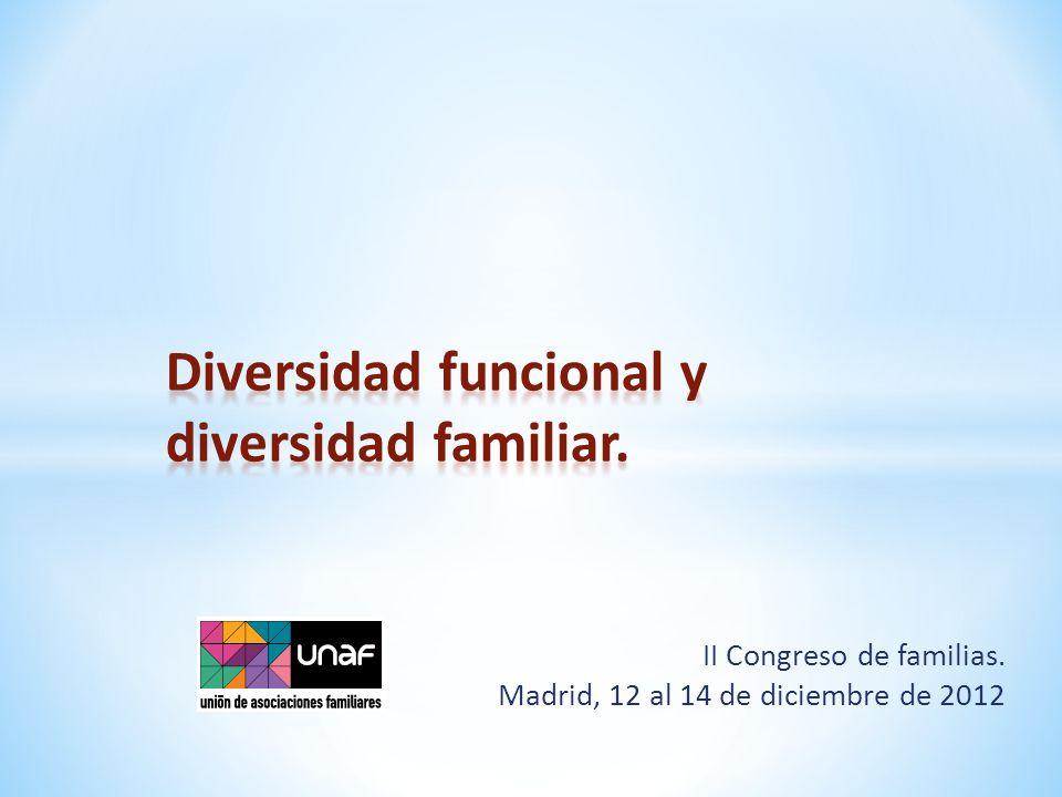 II Congreso de familias. Madrid, 12 al 14 de diciembre de 2012