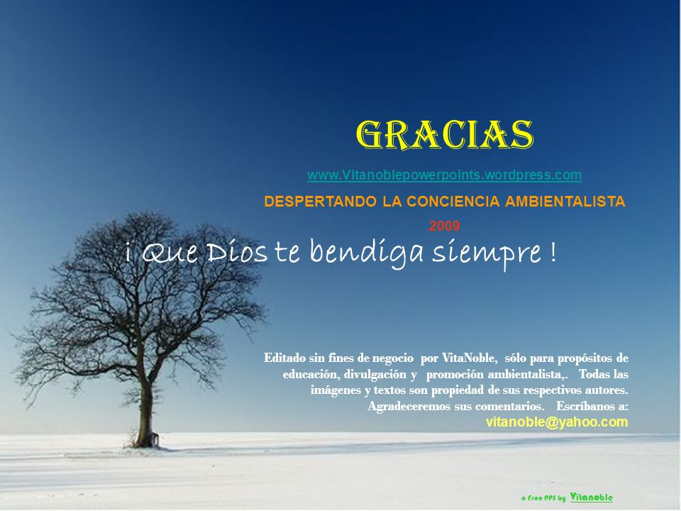 ¡ Que Dios te bendiga siempre ! a Free PPS by V it ano ble