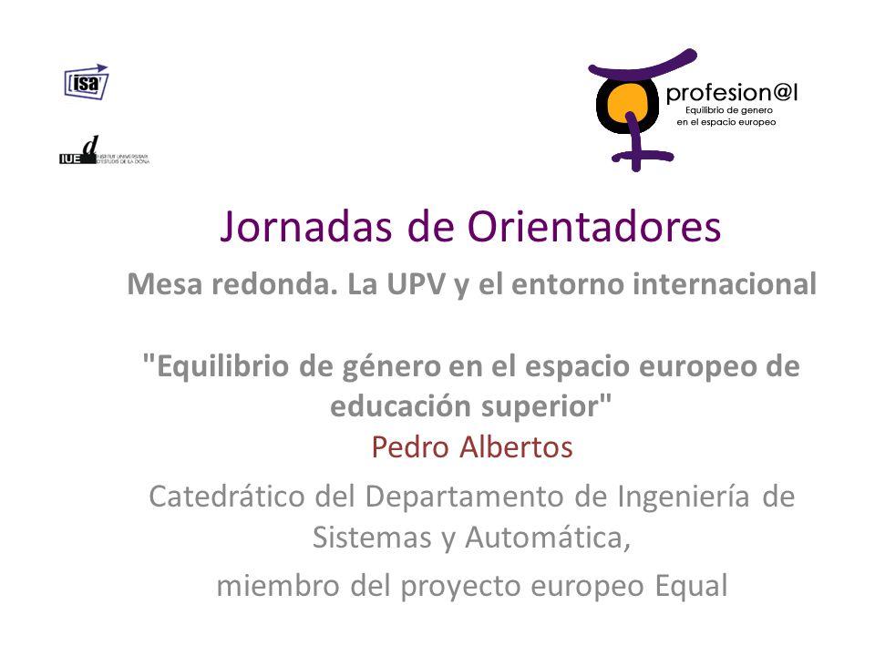 Pedro Albertos Dr.Ing. Industrial Dpto Ingeniería de Sistemas y Automática.