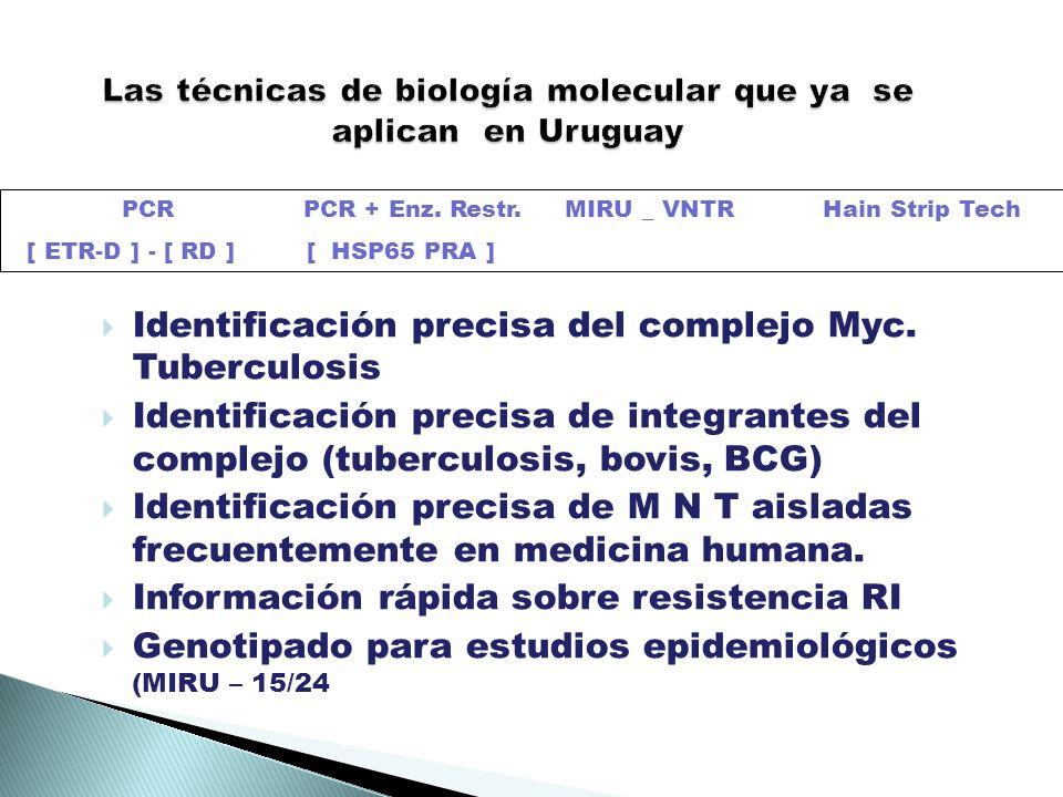 Identificación precisa del complejo Myc.