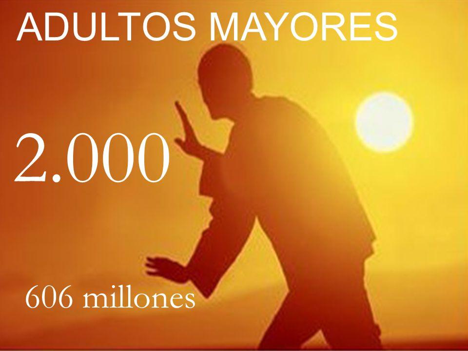 2.000 606 millones ADULTOS MAYORES