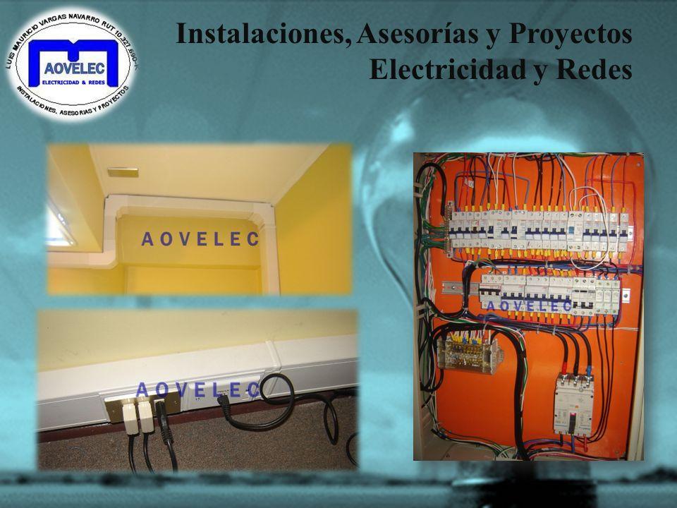 Instalaciones, Asesorías y Proyectos Electricidad y Redes