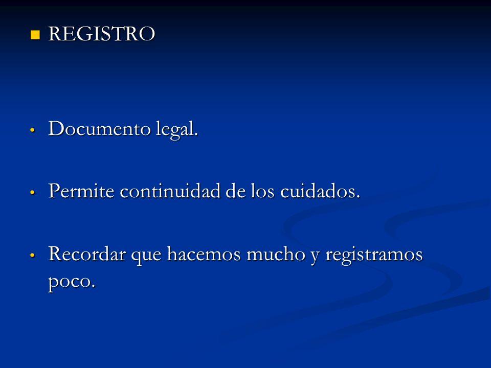 REGISTRO REGISTRO Documento legal.Documento legal.