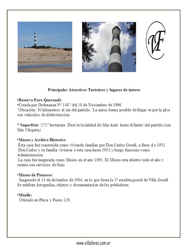 Contactos Cabañas: Teléfonos: (02255) 45-7934/ (02255) 1557-0212 E-mail: complejo@villafaraz.com.ar Club de Mar: Teléfono: (02255) 458036 E-mail: club
