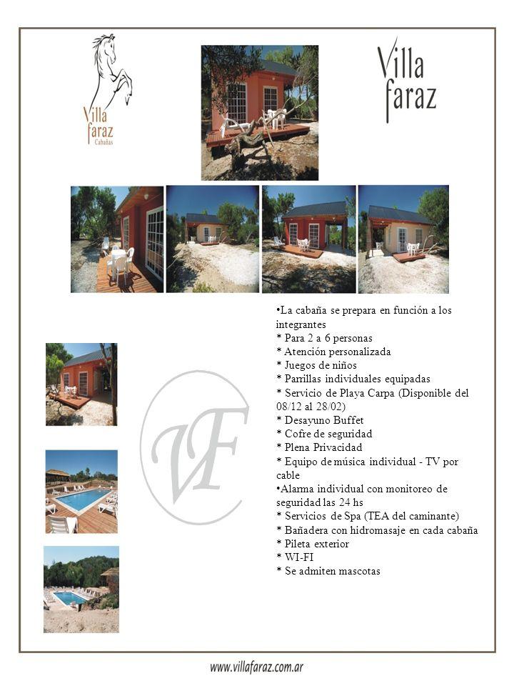 Con una extensión de 17 hectáreas.Villa Faraz está enmarcada con playas de gran amplitud, rodeada de un verdadero oasis de vegetación y dunas. Un luga