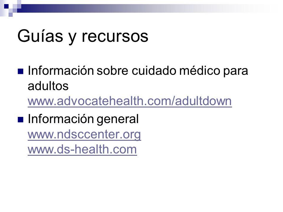 Guías y recursos Información sobre cuidado médico para adultos www.advocatehealth.com/adultdown www.advocatehealth.com/adultdown Información general w