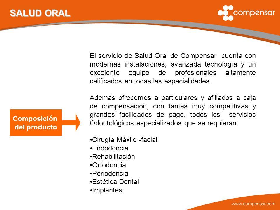 Productos Foco de Salud Oral 1.REHABILITACIÓN: caja de dientes, rehabilitación funcional masticatoria.