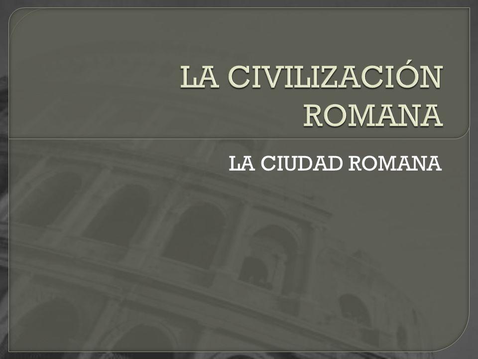 Había varias categorías de ciudades: Ciudad federada: Ciudad conquistada sin resistencia.