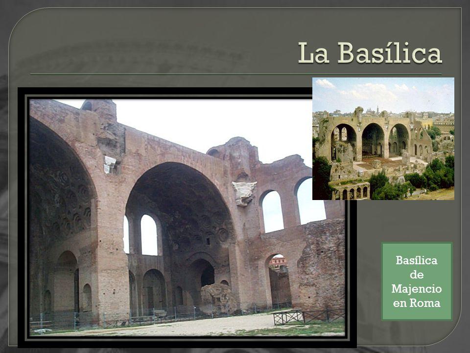 Basílica de Majencio en Roma