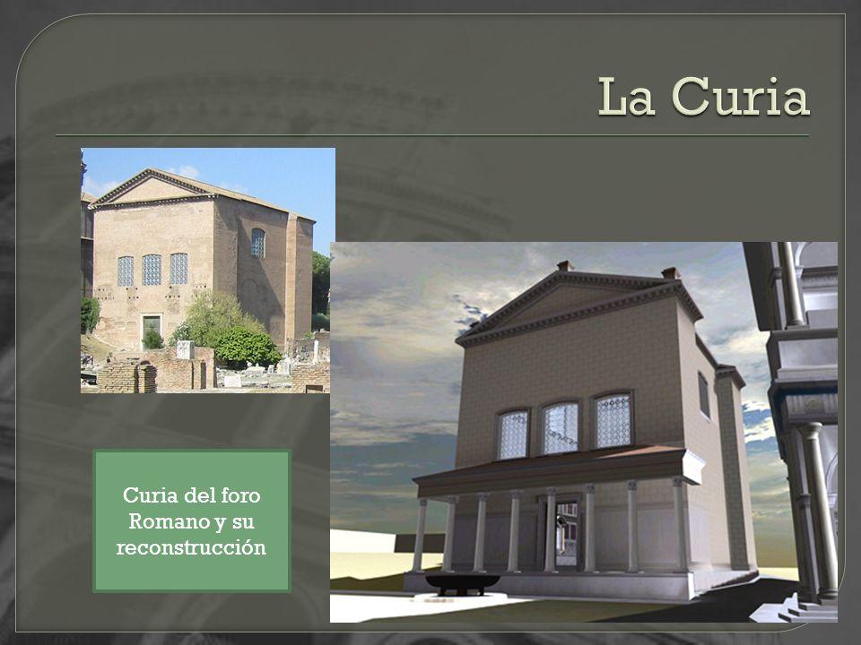 Curia del foro Romano y su reconstrucción