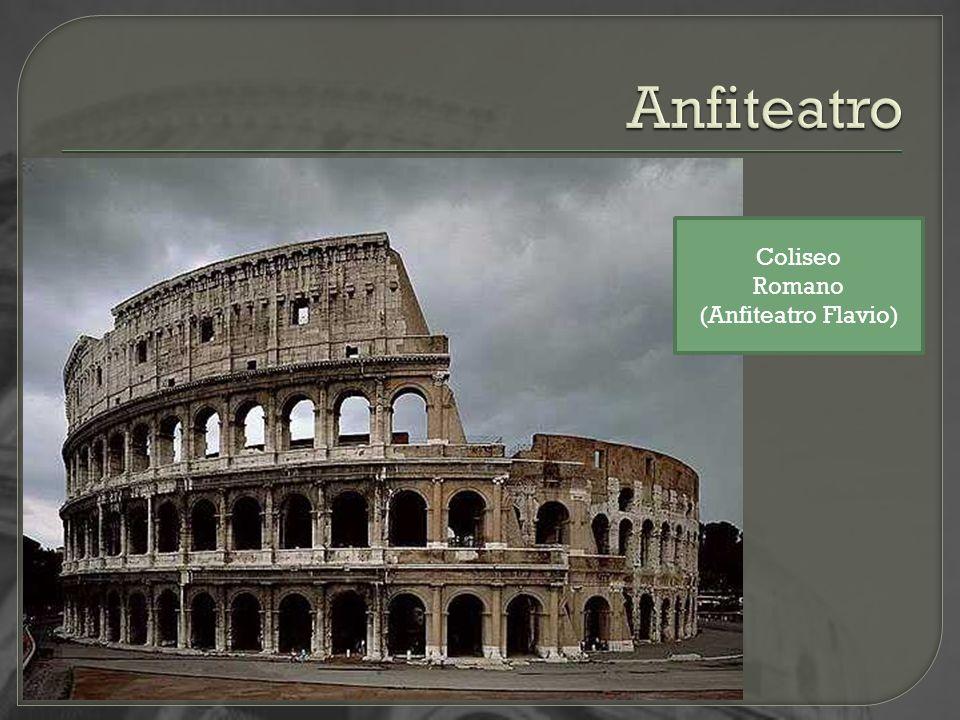 Coliseo Romano (Anfiteatro Flavio)