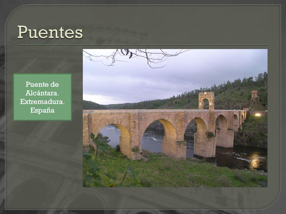 Puente de Alcántara. Extremadura. España