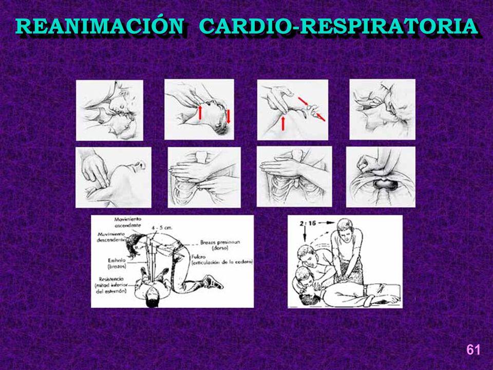 REANIMACIÓN CARDIO-RESPIRATORIA 61