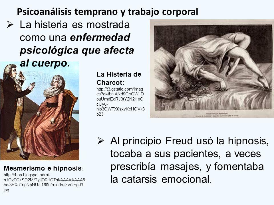 Psicoanálisis temprano y trabajo corporal Mesmerismo e hipnosis : http://4.bp.blogspot.com/- n1OzFCkSD2M/TytlDR1CTsI/AAAAAAAA5 bo/3PXc1ngNpNU/s1600/mi