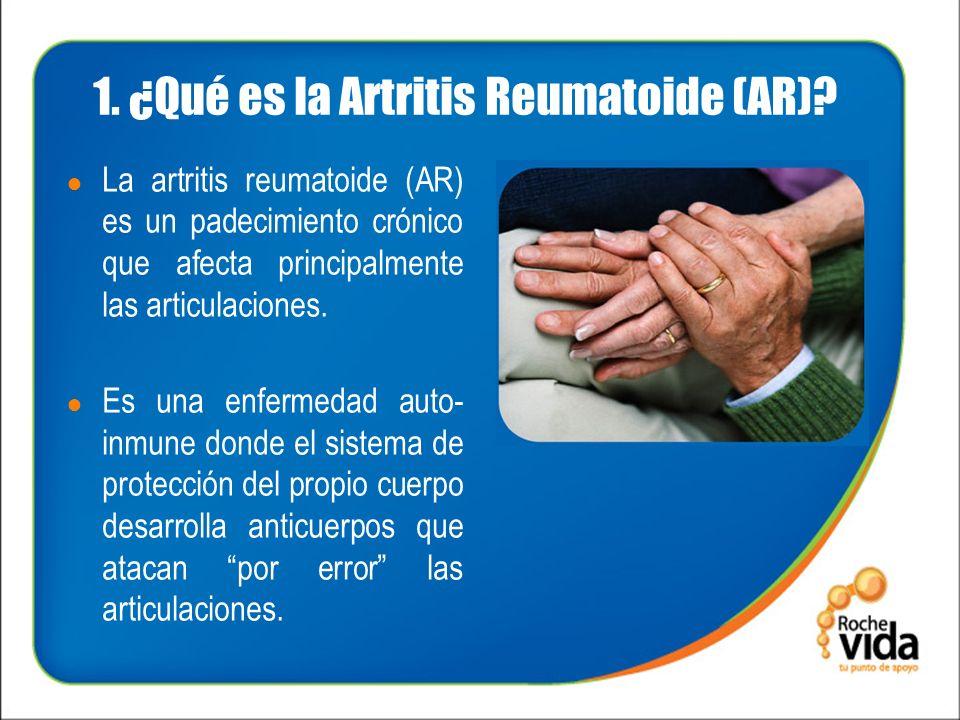 1.¿Qué es la Artritis Reumatoide (AR).