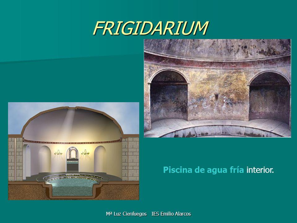 FRIGIDARIUM Piscina de agua fría interior. Mª Luz Cienfuegos IES Emilio Alarcos