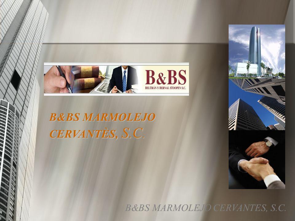 B&BS MARMOLEJO CERVANTÈS, S.C. B&BS MARMOLEJO CERVANTES, S.C.