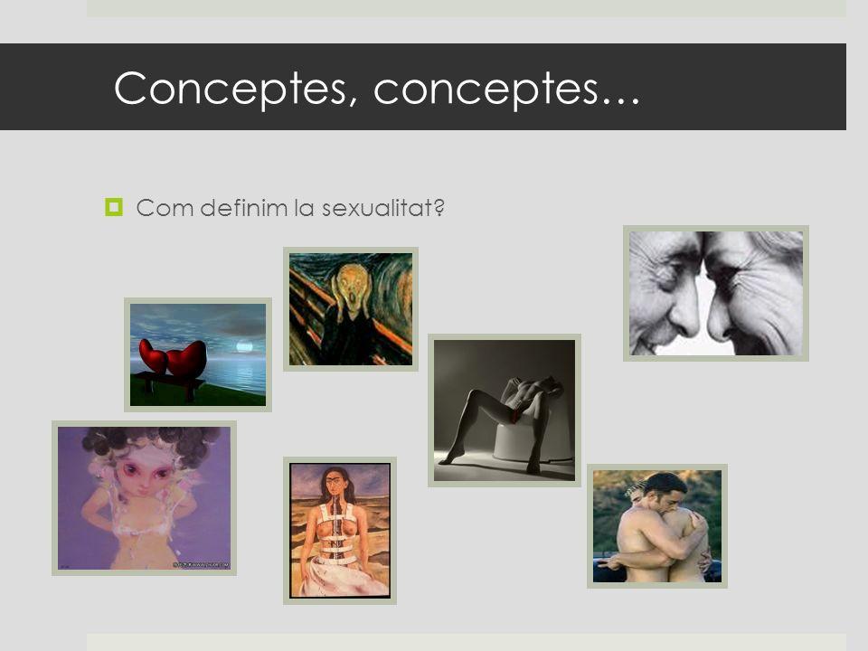 Conceptes, conceptes… Com definim la sexualitat?