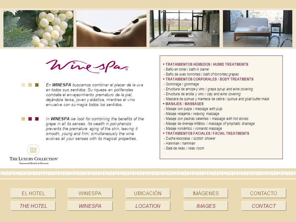 En WINESPA buscamos combinar el placer de la uva en todos sus sentidos.