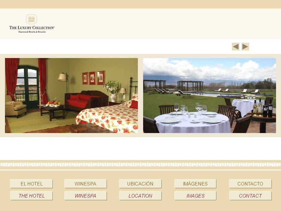 EL HOTELWINESPAUBICACIÓNIMÁGENESCONTACTO THE HOTELWINESPALOCATIONIMAGESCONTACT