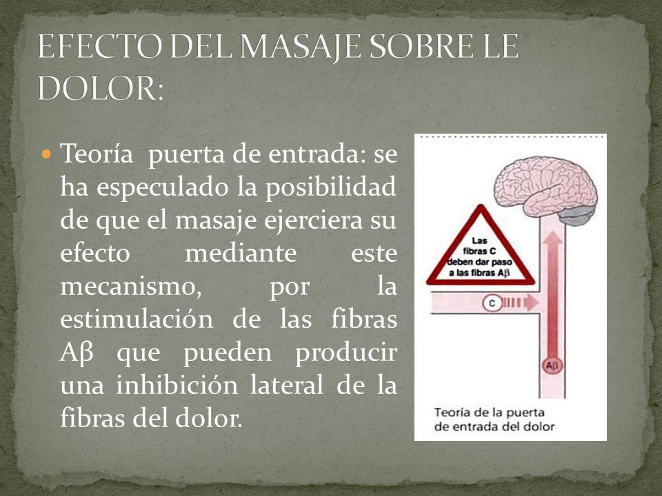 Las vías descendentes relacionadas con la modulación del dolor son, la sustancia gris periacueductal, cuyas neuronas llegan al núcleo magno de rafe y