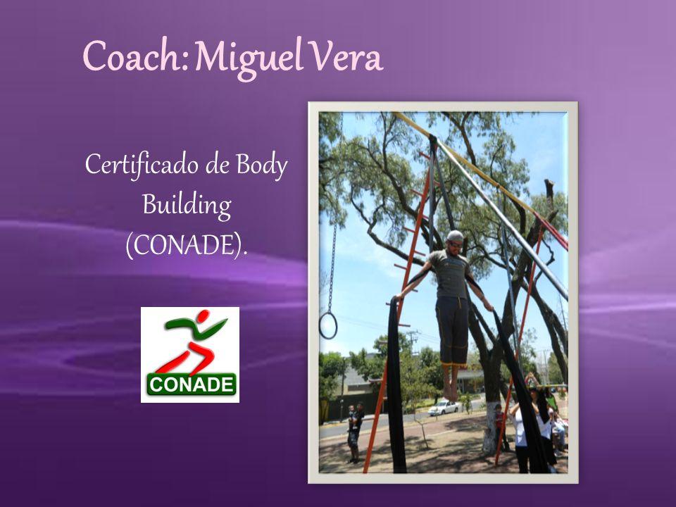 Maestra: Berenice Yañez Certificado de FlyFitness.