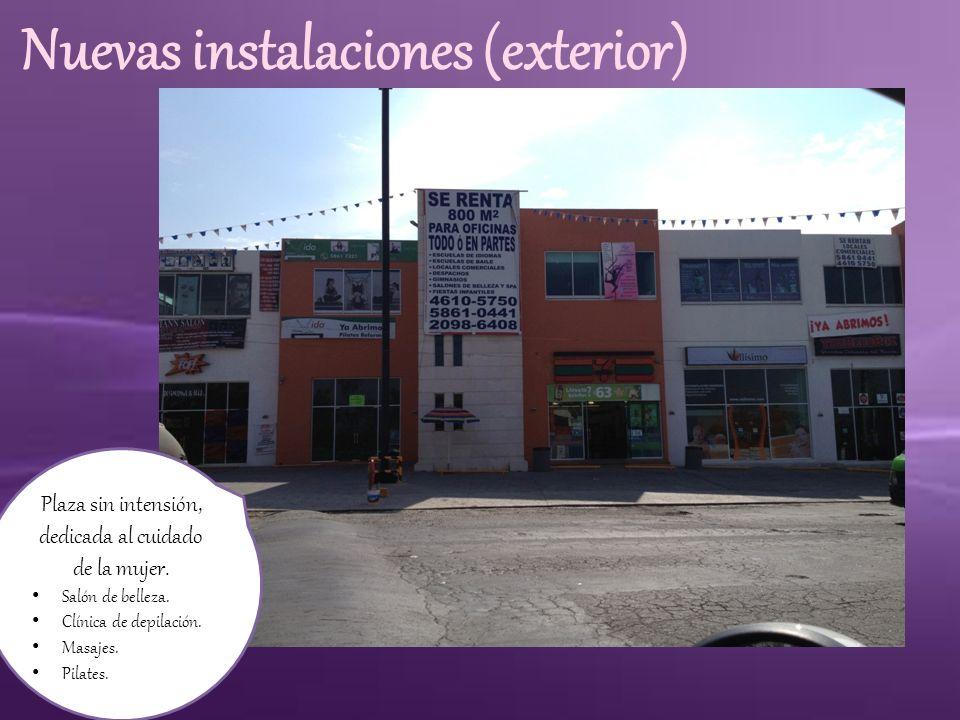 Nuevas instalaciones (estacionamiento) Estacionamiento para más de 20 autos.