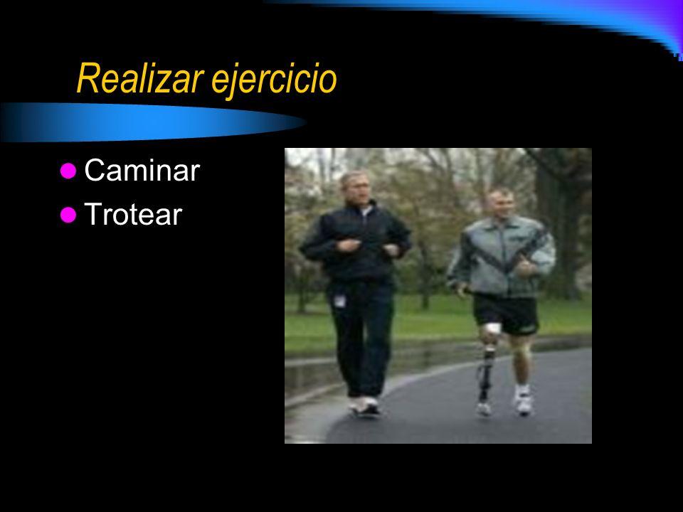 Realizar ejercicio Caminar Trotear