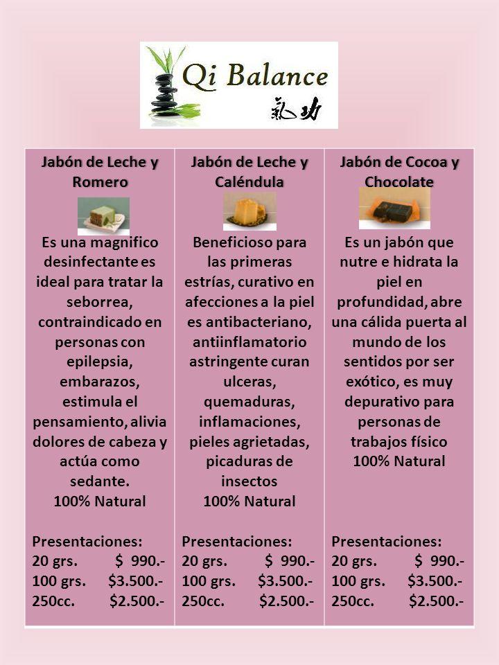 Jabón de Leche y Romero Es una magnifico desinfectante es ideal para tratar la seborrea, contraindicado en personas con epilepsia, embarazos, estimula