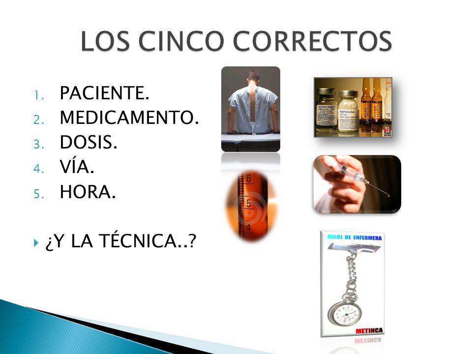 Hace referencia a todas las formas de inyección en los tejidos o líquidos corporales.