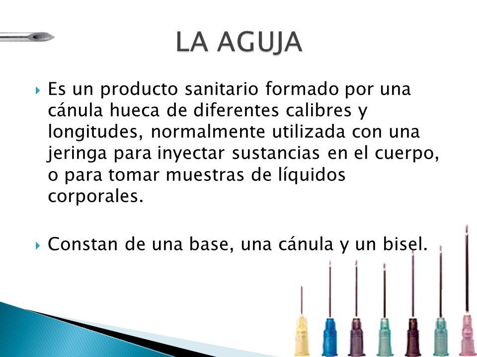 Código de ColorGrosorLongitud Rojo 29G(0.33mm)1/2 (13mm) Verde 28G(0.36mm)1/2 (13mm) Gris 27G(0.4mm)1/2 (13mm) Marrón 26G(0.45mm)1/2 (13mm) Naranja 25G(0.5mm) 5/8 (16mm) 1 (25mm) Violeta 24G(0.55mm) 1 (25mm) 1 1/4 (32mm) Azul 23G(0.6mm) 1 (25mm) 1 1/4 (32mm) 1 1/2 (38mm) Negro 22G(0.7mm) 1 (25mm) 1 1/4 (32mm) 1 1/2 (38mm) Verde Oscuro 21G(0.8mm) 1 (25mm) 1 1/4 (32mm) 1 1/2 (38mm) Amarillo 20G(0.9mm) 1 (25mm) 1 1/4 (32mm) 1 1/2 (38mm) Crema 19G(1.1mm) 1 1/4 (32mm) 1 1/2 (38mm) Rosado 18G(1.2mm) 1 1/4 (32mm) 1 1/2 (38mm) Blanco 17G(1.4mm) 1 1/4 (32mm) 1 1/2 (38mm)