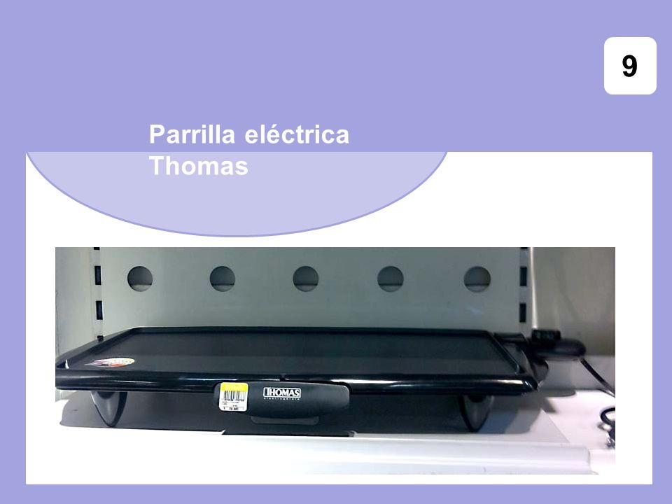 9 Parrilla eléctrica Thomas
