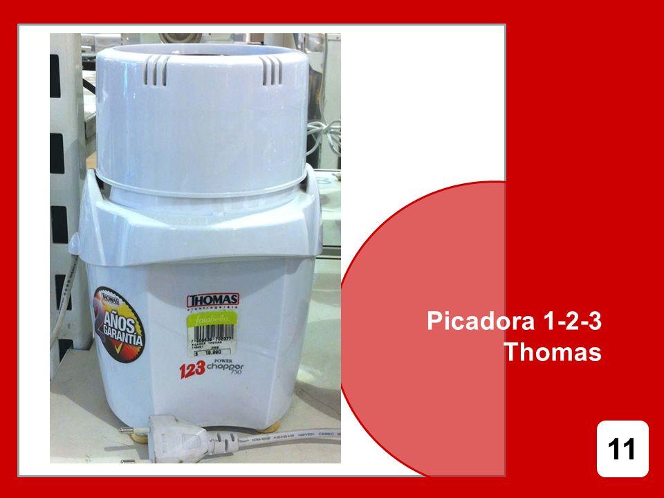 Picadora 1-2-3 Thomas 11