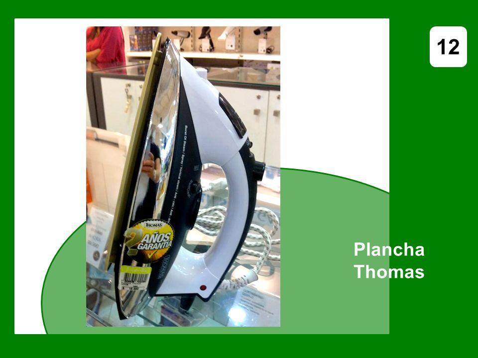 Plancha Thomas 12