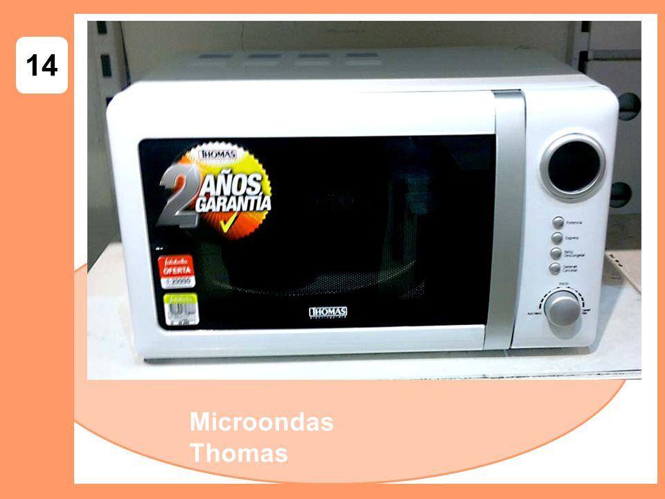 14 Microondas Thomas
