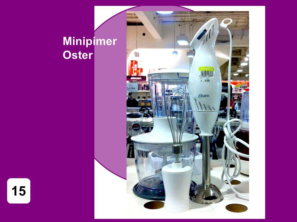 Minipimer Oster 15