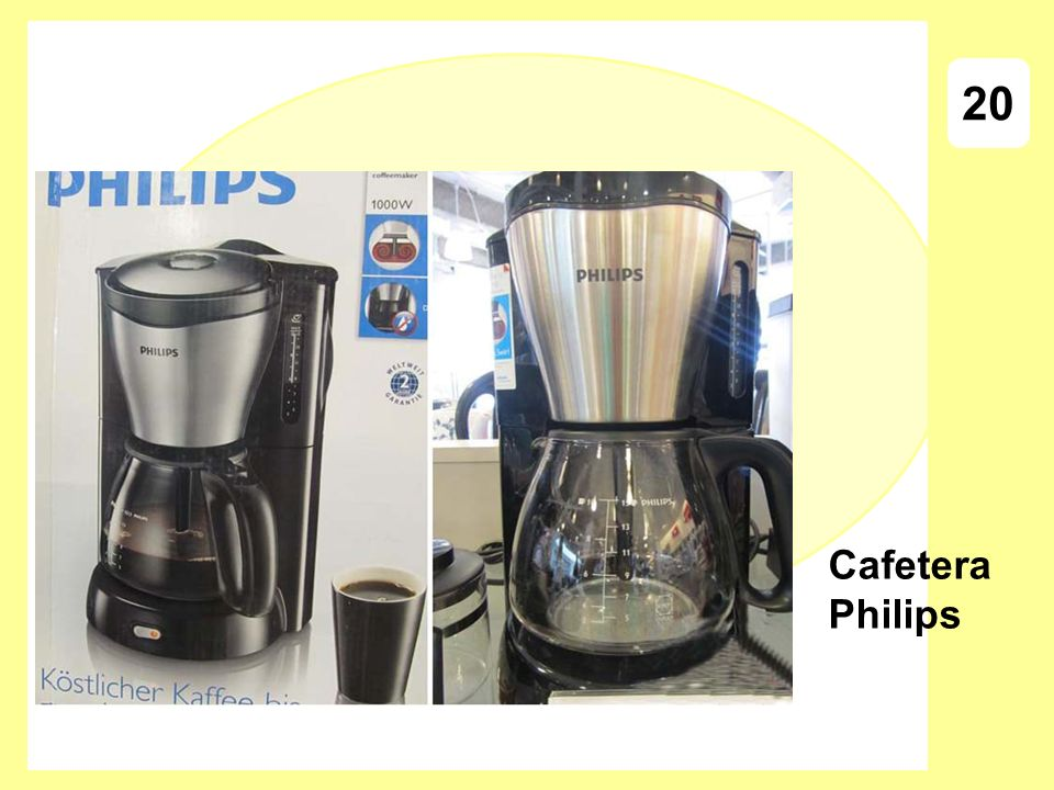 20 Cafetera Philips