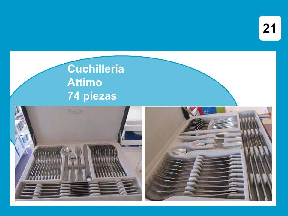 Cuchillería Attimo 74 piezas 21